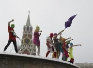 Pussy Riot - концерт на стената на Кремъл